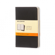 CAHIER BLK RUL 3.5x5.5