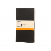 CAHIER BLK RUL 5x8.25