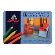 Conte Pastel Pencils Tin 24 Assorted Colors