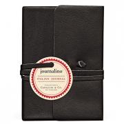 Journalino Small 3.25 x 4.25 Black Leather Journal