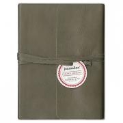 Journalino Slim 5x7 Grey Leather Journal