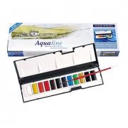 Aquafine Watercolor Whole Pan Set