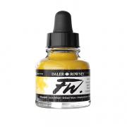 Daler Rowney FW Acrylic Ink Brilliant Yellow 1 oz