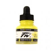Daler Rowney FW Acrylic Ink Lemon Yellow 1 oz