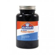 Elmer's Rubber Cement 8oz No Wrinkle