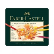 Faber-Castell Polychromos Colored Pencil Set of 24 - Tin