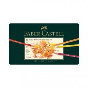 Faber-Castell Polychromos Colored Pencil Set of 36 - Tin