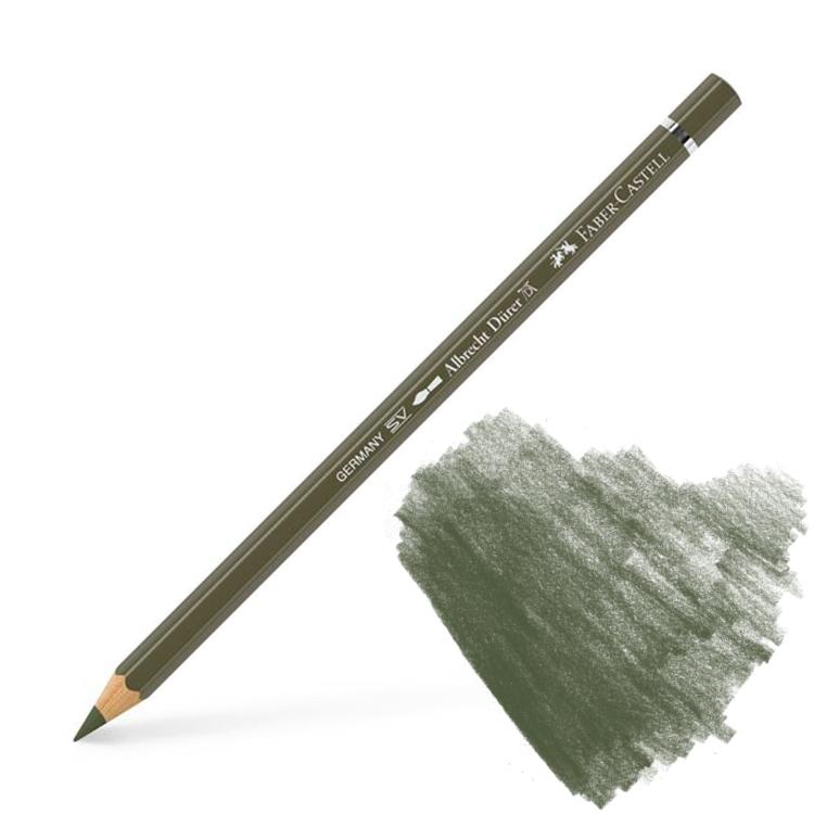 faber-castell albrecht durer watercolor pencil olive green