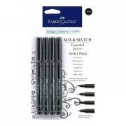 Faber Castell Mix & Match Essential Pitt Artist Pens Set of 4