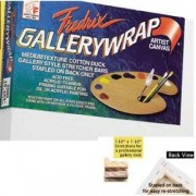 Fredrix Gallery Wrap Canvas 5 x 7 Case of 12