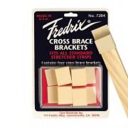 Fredrix Stretcher Bar Cross Brace Brackets 4 Pack