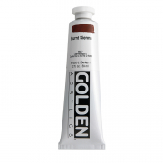 Golden Heavy Body Acrylic Burnt Sienna 2 oz