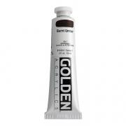 Golden Heavy Body Acrylic Burnt Umber 2 oz