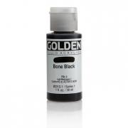 Golden Fluid Acrylic Bone Black 1oz