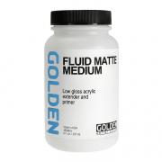 Golden Fluid Matte Medium 8 oz