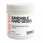 Golden Hard Sandable Gesso 8 oz
