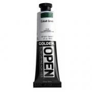 Golden Open Acrylic Color Cobalt Green 2 oz