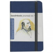 Handbook Travelogue Journal Portrait 3.5 x 5.5 Blue