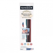 Kimberly Southwest 4ct Watercolor Pencil Set