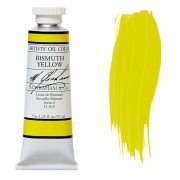 M. Graham Bismuth Yellow 1.25 oz  Oil Color