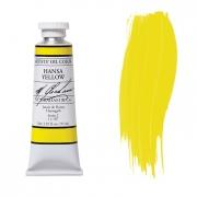 M. Graham Hansa Yellow 1.25 oz Oil Color