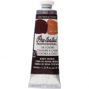 Grumbacher Pre-Tested Oil Burnt Sienna 37ml SPECIAL ORDER