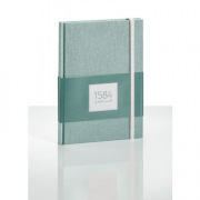 """1584 Notebook Dotted Sea Green 5.83x8.27"""" 100sh 90g / 100gsm"""