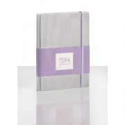 """1584 Notebook Dotted Lilac 5.83x8.27"""" 100sh 90gsm / 100gsm"""
