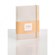 """1584 Notebook Dotted Peach 5.83x8.27"""" 100sh 90gsm / 100gsm"""