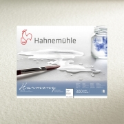 Hahnemühle Harmony 10x14 Watercolor 12 sheet block, Rough