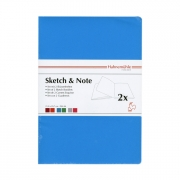 Hahnemühle Sketch & Note Booklets Blue/Green Bundle A4