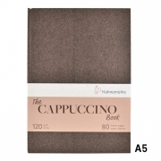 """Hahnemuhle Cappuccino Book A5 5.83x8.27"""" 120 gsm 40sh/80pgs"""