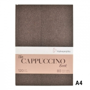"""Hahnemuhle Cappuccino Book A4 8.24x11.69"""" 120gsm 40sh/80pgs"""