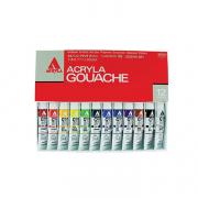 Holbein Acryla Gouache Lesson 12 color set 20ml