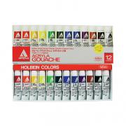 Acryla Gouache School 12 color set 12ml