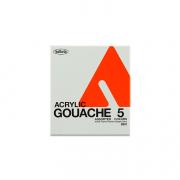 Holbein Acryla Gouache 5 pc 12ml Sample Set