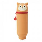 PuniLabo Pen Case Upright Shiba Dog