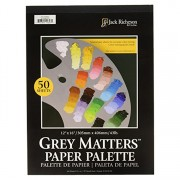 Grey Matters Paper Palette 12x16