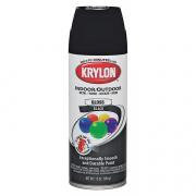 Krylon Spray Paint Glossy Black 12oz