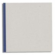 Binderboard Sketchbook 8.25x8.25 - Blue 144pgs