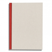 Binderboard Sketchbook 5.75x8.25 - Red 144pgs