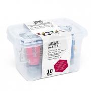 Liquitex Bascics Acrylic Starter Box Set