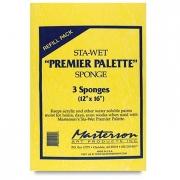 Masterson Sta-Wet Sponge Refill for Sta-Wet Palette