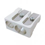 M+R Magnesium Wedge Double Hole Sharpener