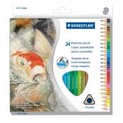 Staedtler Triangular W/C Pencil Set 24 Color