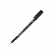 Staedtler Lumocolor Permanent Special 319 Marker Superfine Black