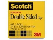 "Scotch 665 Double Sided Tape .75"" x 36 Yards"