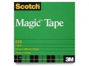 """Scotch 810 Magic Tape .75"""" x 72 Yards"""
