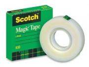 "Scotch 810 Magic Tape 1"" Core 3/4"" x 36 Yards"