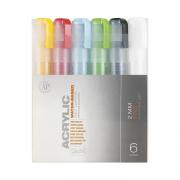 Montana Acrylic Marker 1mm Fine Nib Set of 6